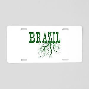 Brazil Roots Aluminum License Plate