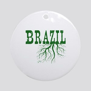 Brazil Roots Ornament (Round)