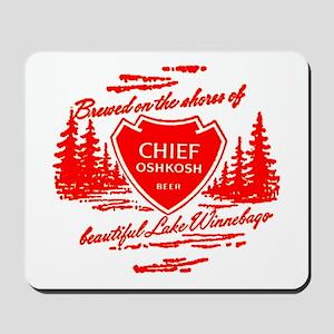 Chief Oshkosh-1960 Mousepad