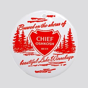Chief Oshkosh-1960 Ornament (Round)