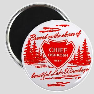 Chief Oshkosh-1960 Magnet