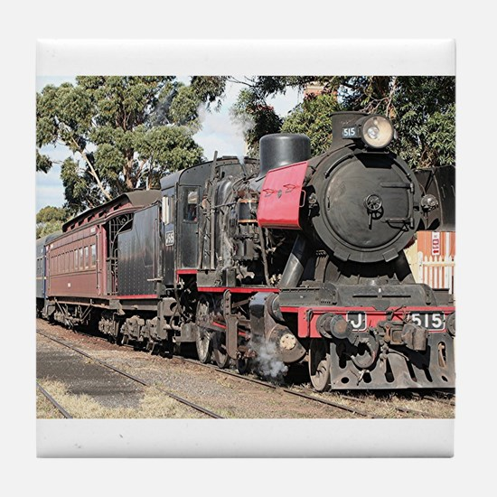 Goldfields steam locomotive, Victoria Tile Coaster