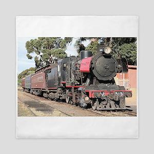Goldfields steam locomotive, Victoria, Queen Duvet
