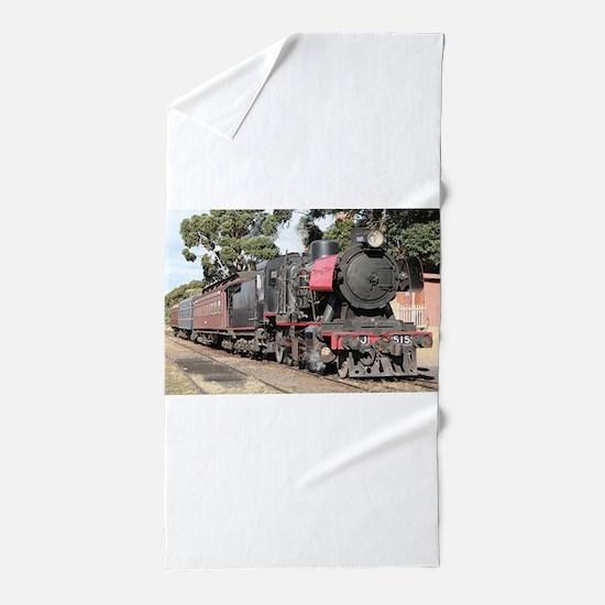 Goldfields steam locomotive, Victoria, Beach Towel