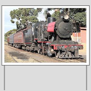 Goldfields steam locomotive, Victoria, A Yard Sign