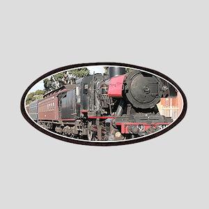 Goldfields steam locomotive, Victoria, Aus Patches