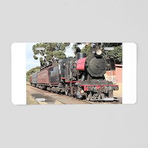 Goldfields steam locomotive Aluminum License Plate
