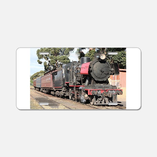 Goldfields steam locomotive Aluminum License Plate