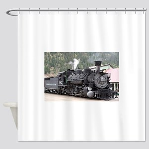 Steam Train: Colorado Shower Curtain