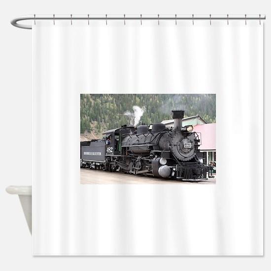 Steam Train: Colorado Shower Curtain