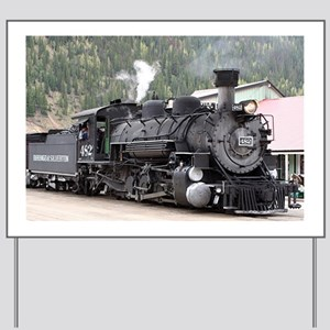Steam Train: Colorado Yard Sign