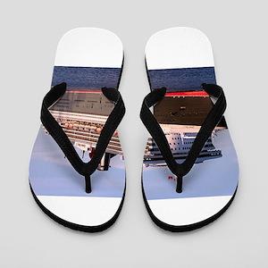 Cruise Ship 2 Flip Flops