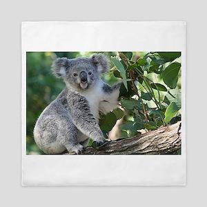 Cute koala Queen Duvet