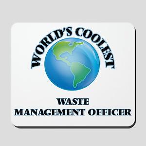 Waste Management Officer Mousepad