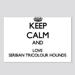 Keep calm and love Serbia Postcards (Package of 8)