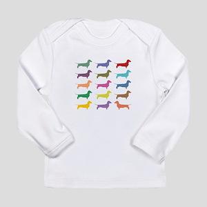 Colorful Dachshunds Long Sleeve T-Shirt