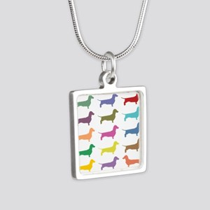 Colorful Dachshunds Necklaces