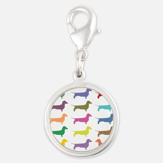 Colorful Dachshunds Charms