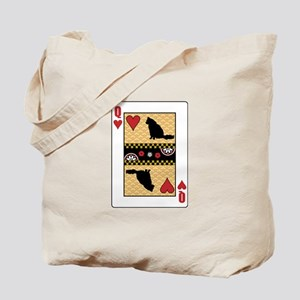 Queen Angora Tote Bag