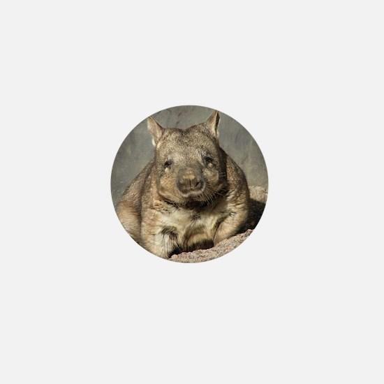 wombat Mini Button