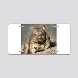 wombat Aluminum License Plate