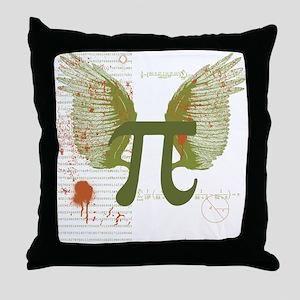 Pi Art Throw Pillow
