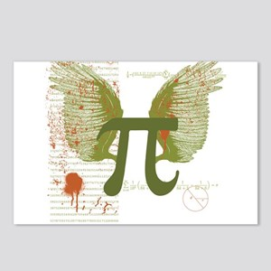 Pi Art Postcards (Package of 8)