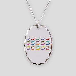 dach-multi-mug Necklace Oval Charm