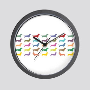 dach-multi-mug Wall Clock