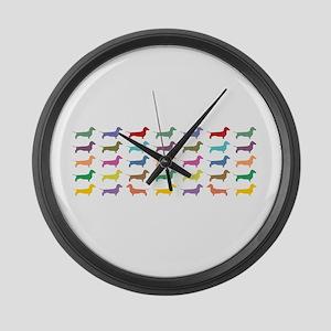 dach-multi-mug Large Wall Clock