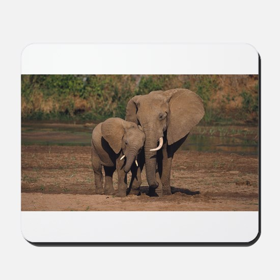 elephants Mousepad