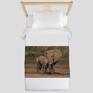elephants Twin Duvet