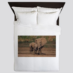 elephants Queen Duvet