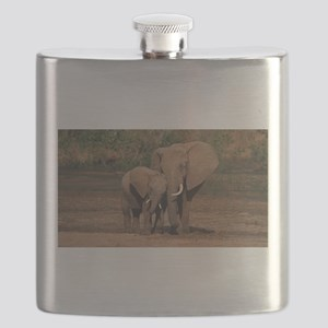 elephants Flask