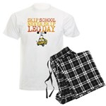 Skip School Never Skip Leg Day Pajamas