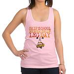 Skip School Never Skip Leg Day Racerback Tank Top