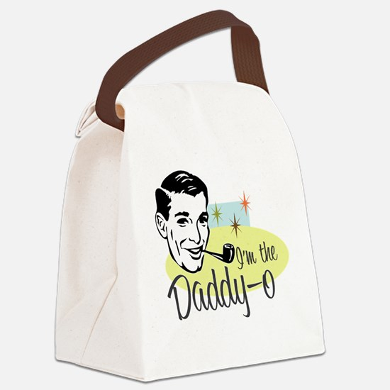 I'm the Daddy-0 Canvas Lunch Bag