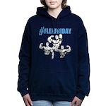 FLEXFRIDAY Women's Hooded Sweatshirt