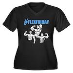 FLEXFRIDAY Plus Size T-Shirt