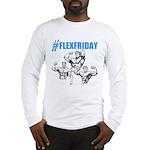 FLEXFRIDAY Long Sleeve T-Shirt