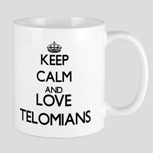 Keep calm and love Telomians Mugs
