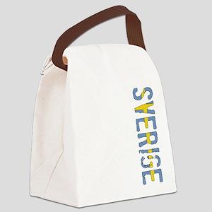 Sverige Canvas Lunch Bag