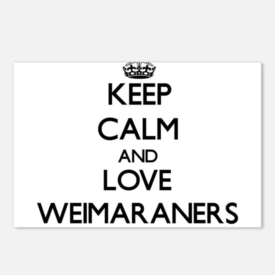 Keep calm and love Weimar Postcards (Package of 8)