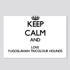 Keep calm and love Yugosl Postcards (Package of 8)