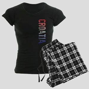 co-stamp-croatiaB Women's Dark Pajamas