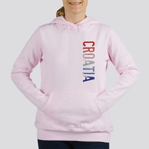 co-stamp-croatiaB Women's Hooded Sweatshirt