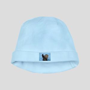 otter baby hat