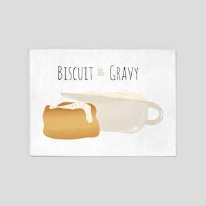 Biscuit & Gravy 5'x7'Area Rug
