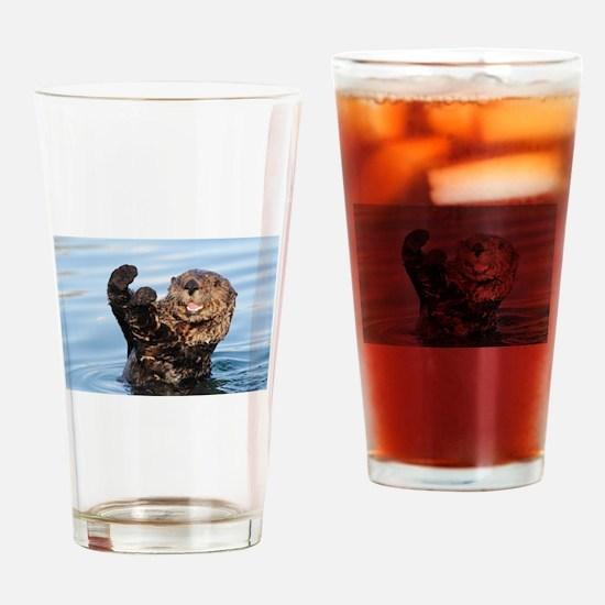 otter Drinking Glass