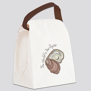 Your Oyster Canvas Lunch Bag